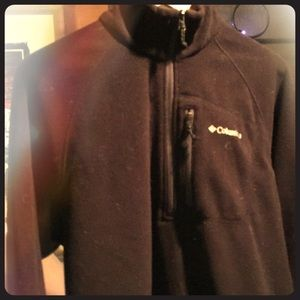 Columbia Fleece pullover 1/4 zip